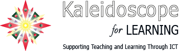 image for kaleidoscope for learning logo